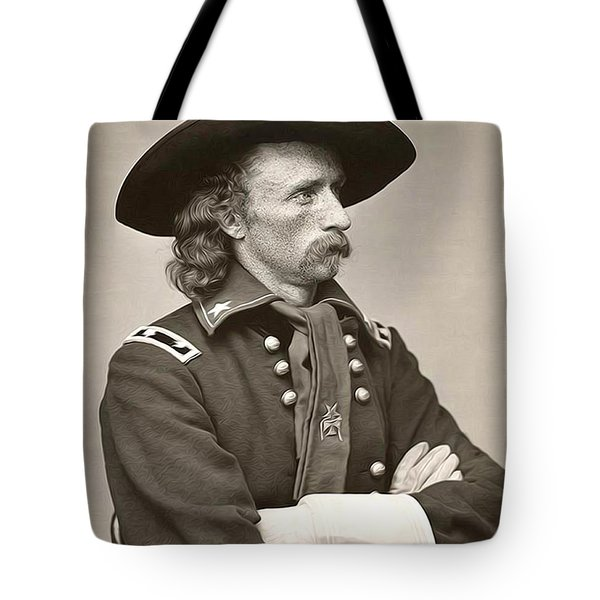General Custer Tote Bag by Bill Cannon