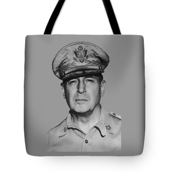 General Douglas Macarthur Tote Bag by War Is Hell Store