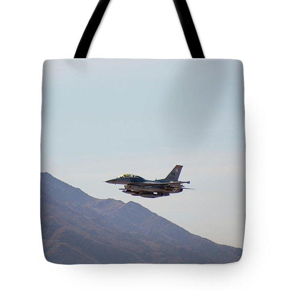 General Dynamics F-16 Wa 839 - Nellis Afb Tote Bag