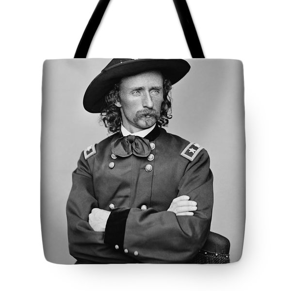 General George Armstrong Custer Tote Bag