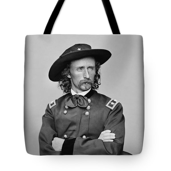 General George Armstrong Custer Tote Bag by War Is Hell Store