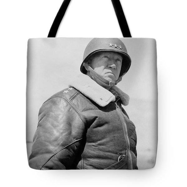 General George S. Patton Tote Bag