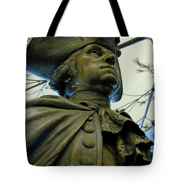 General George Washington Tote Bag by LeeAnn McLaneGoetz McLaneGoetzStudioLLCcom