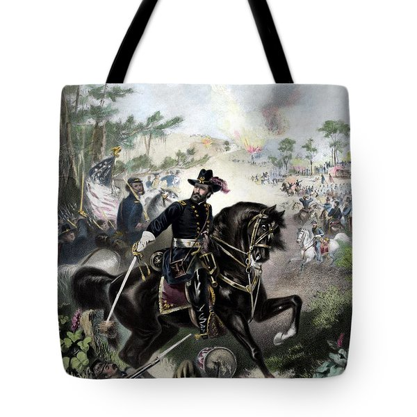 General Grant During Battle Tote Bag