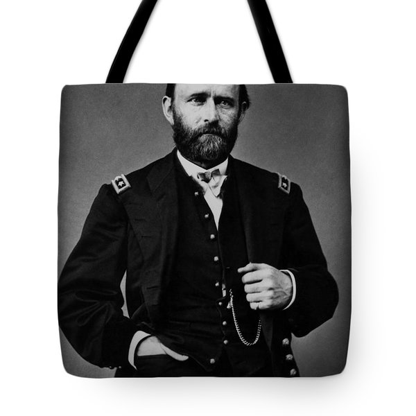 General Grant During The Civil War Tote Bag