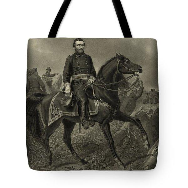 General Grant On Horseback  Tote Bag