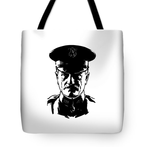 General John Pershing Tote Bag by War Is Hell Store