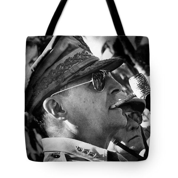 General Macarthur Tote Bag by War Is Hell Store