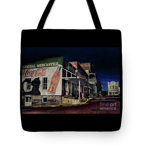 General Mercantile Tote Bag by Savannah Gibbs
