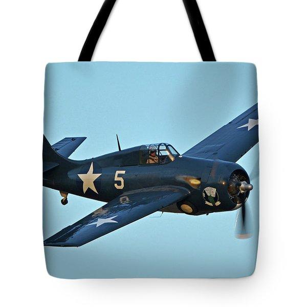 General Motors Fm-2 Wildcat N5hp Kimberly Brooke Chino California April 29 2016 Tote Bag by Brian Lockett