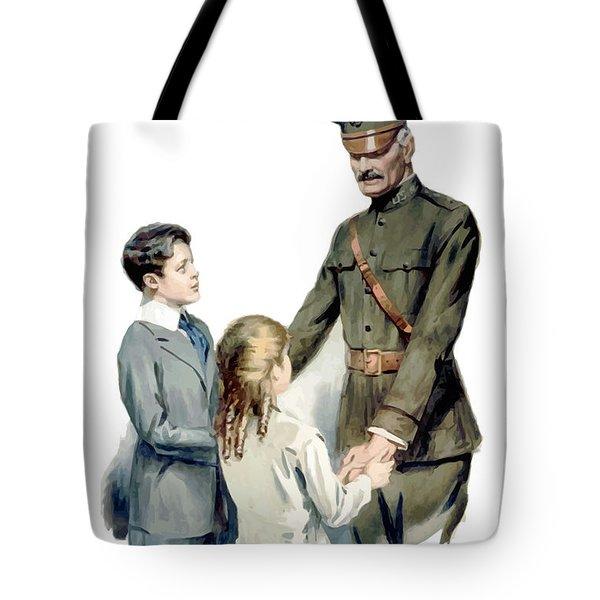 General Pershing - Buy War Saving Stamps Tote Bag