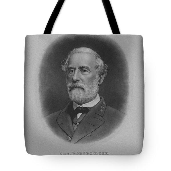 General Robert E. Lee Print Tote Bag