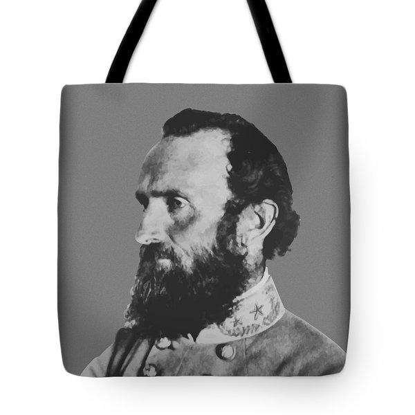 General Stonewall Jackson Profile Tote Bag