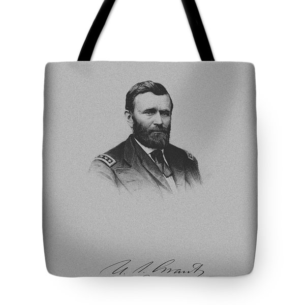 General Ulysses Grant And His Signature Tote Bag