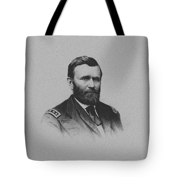 General Ulysses Grant And His Signature Tote Bag by War Is Hell Store