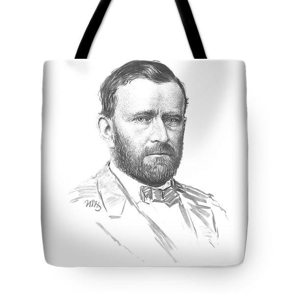 General Ulysses Grant Sketch Tote Bag