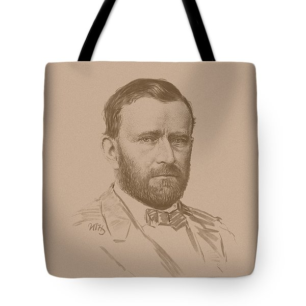 General Ulysses S Grant Tote Bag by War Is Hell Store