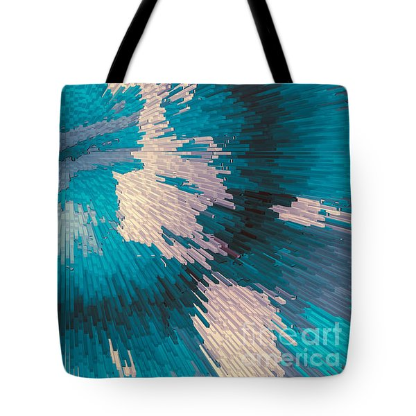 Genetic Modification Flower Tote Bag