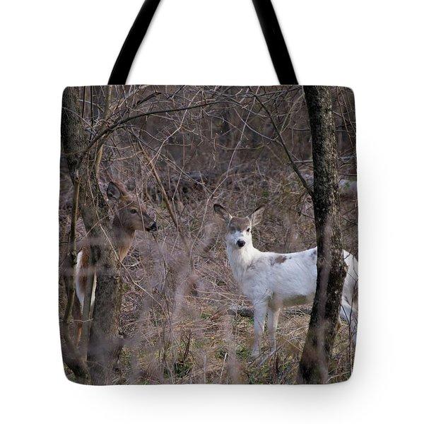 Genetic Mutant Deer Tote Bag