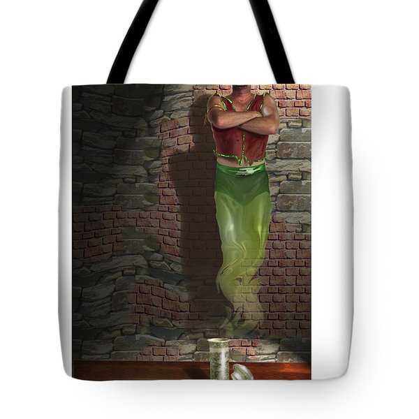 Genie In A Bottle Tote Bag