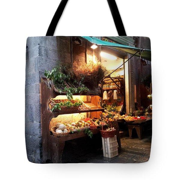 Genoa Produce Market Tote Bag