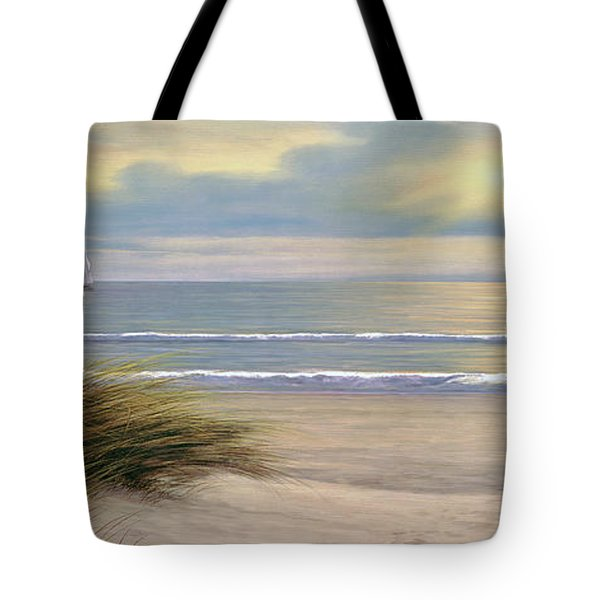 Gentle Breeze Panoramic Tote Bag