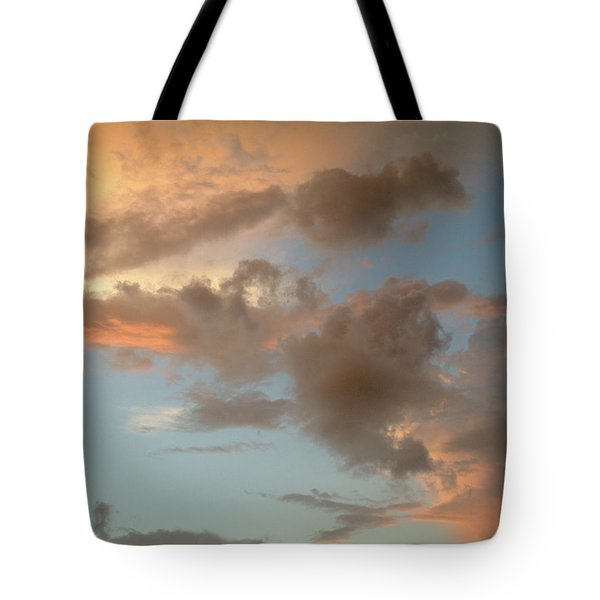 Gentle Clouds Gentle Light Tote Bag