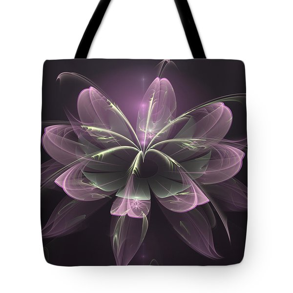 Tote Bag featuring the digital art Gentle Kindnesses by Isabella Howard