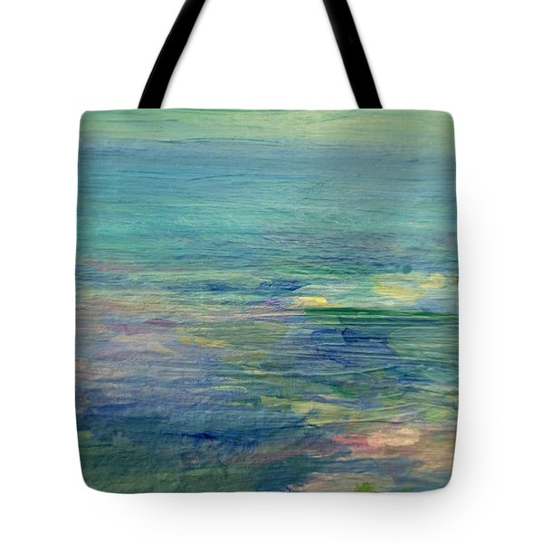 Gentle Light On The Water Tote Bag