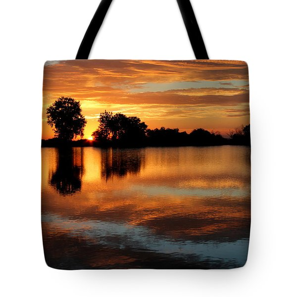Gentle Pond Tote Bag