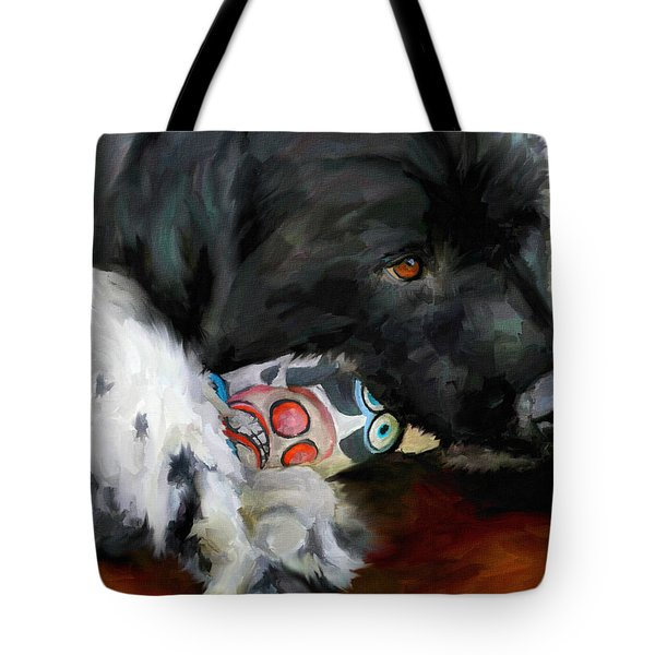 Gentle Soul Tote Bag by Jai Johnson