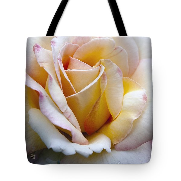 Gentle Swirls And Curls Tote Bag by Barbara Middleton