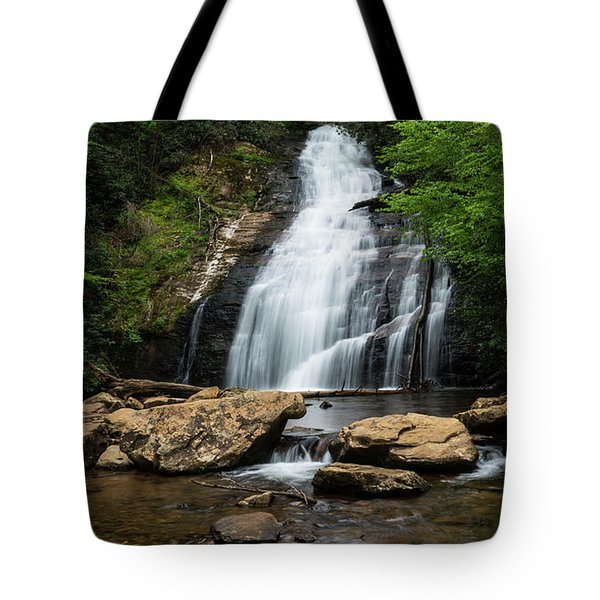 Gentle Waterfall North Georgia Mountains Tote Bag