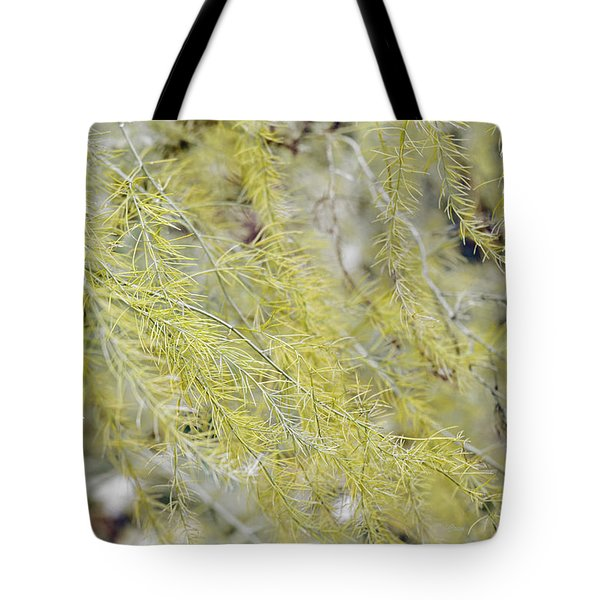 Tote Bag featuring the photograph Gentle Weeds by Deborah  Crew-Johnson