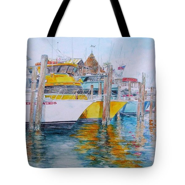 Gentle Winds Tote Bag