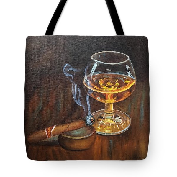Gentleman's Delight  Tote Bag by Susan Dehlinger