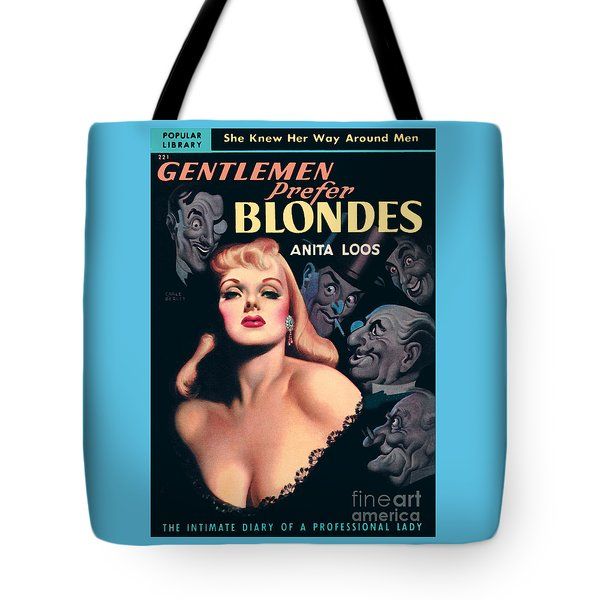 Gentlemen Prefer Blondes Tote Bag