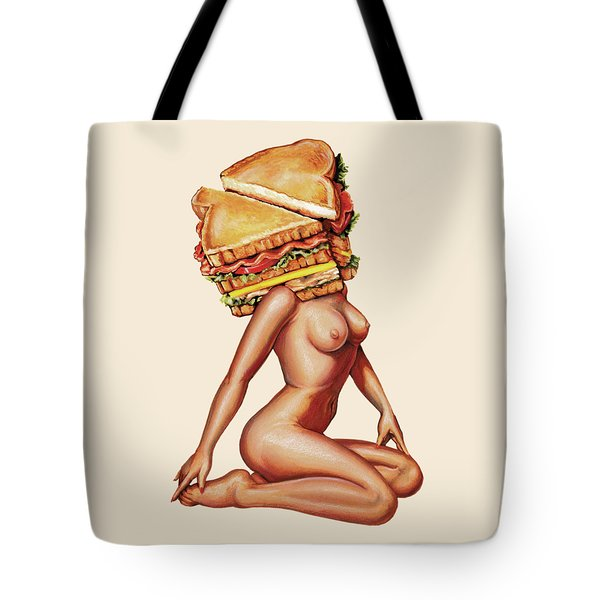 Gentlemen's Club Tote Bag by Kelly Gilleran