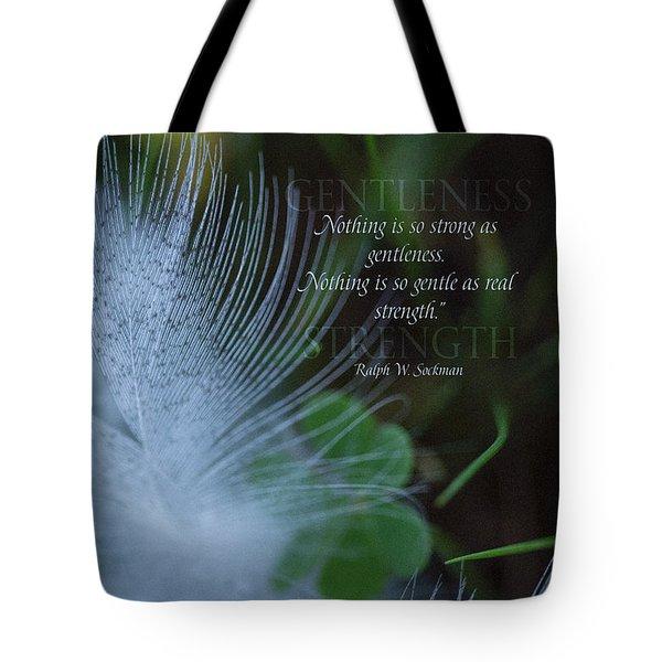Gentleness 2 Tote Bag