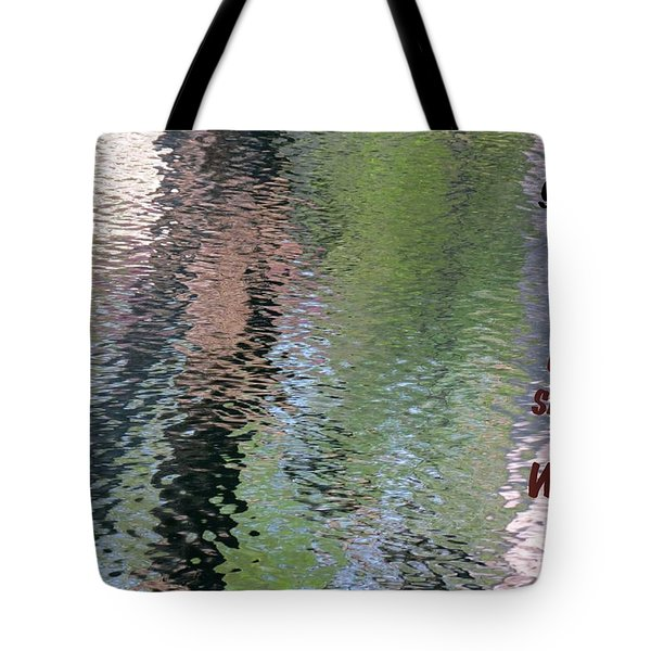 Gentleness Is Victory Tote Bag by David Norman