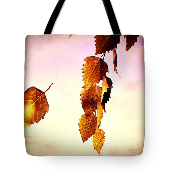Gently September Tote Bag by Bob Orsillo