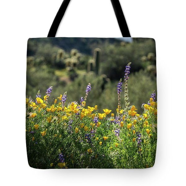 Tote Bag featuring the photograph Gently Swaying In The Wind  by Saija Lehtonen