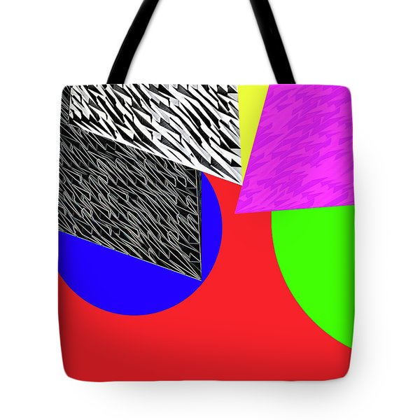 Geo Shapes 2a Tote Bag by Bruce Iorio