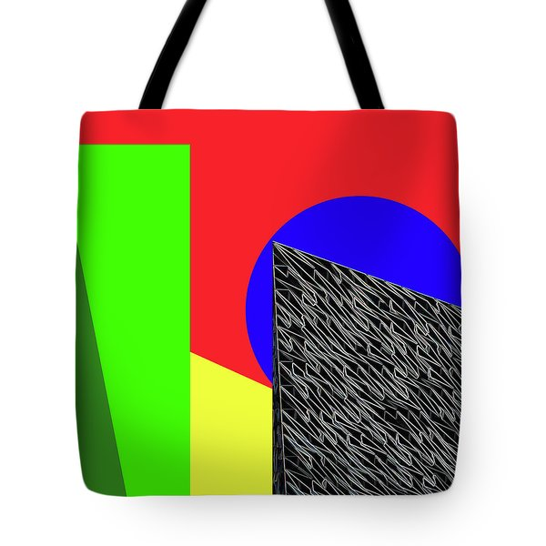 Geo Shapes 3 Tote Bag by Bruce Iorio