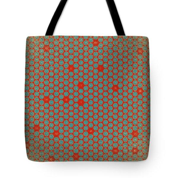 Tote Bag featuring the digital art Geometric 2 by Bonnie Bruno