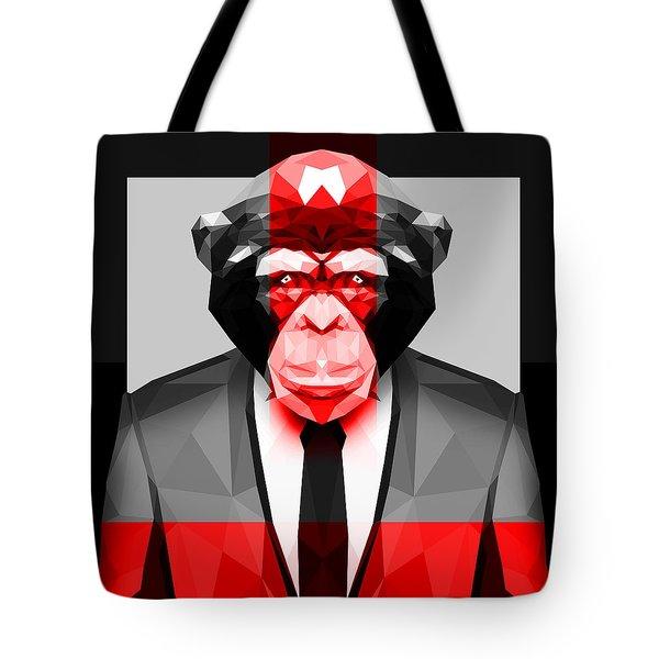 Geometric Ape Tote Bag