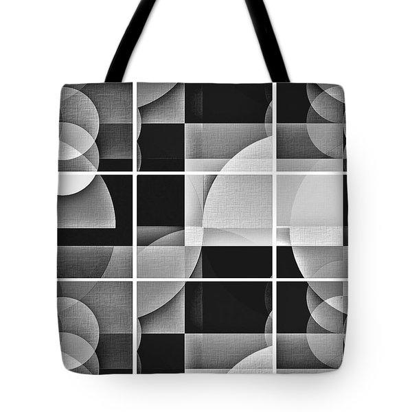 Tote Bag featuring the photograph Geometric Chiaroscuro by Aurelio Zucco