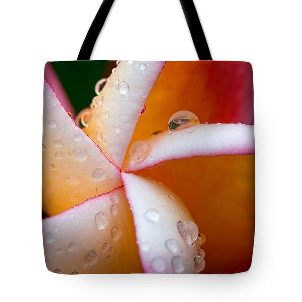 Geometric Flower Tote Bag
