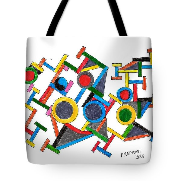 Geometric Fun Tote Bag