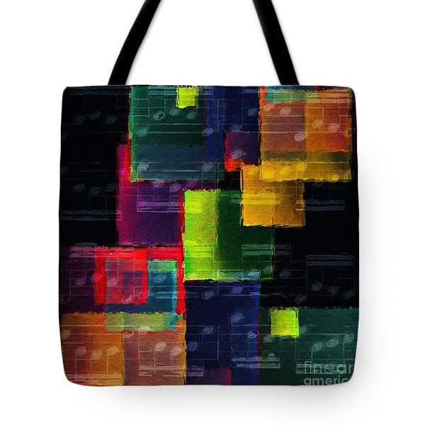 Geometric Gigue 5 Tote Bag